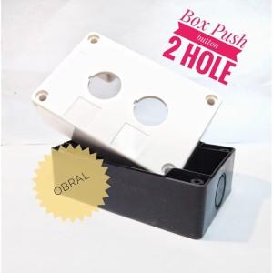 Harga box push button 2 lubang   control box 2 lubang   box 2 | HARGALOKA.COM