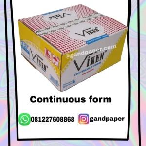 Harga viken continuous form3 ply kirim jne | HARGALOKA.COM