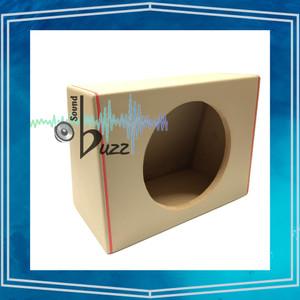 Harga box speaker subwoofer model miring 10 inch list merah   | HARGALOKA.COM