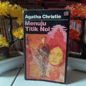 Harga novel misteri terjemahan agatha christie menuju titik nol towards   HARGALOKA.COM