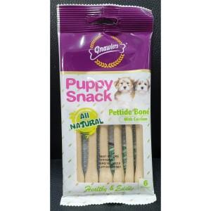 Harga cemilan anjing gnawlers puppy snack petite bone calcium 6 pc 40 | HARGALOKA.COM