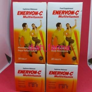 Harga multivitamin enerv0n c tablet botol 30 | HARGALOKA.COM