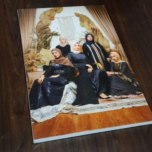 Harga cetak photo kanvas frameless ukuran 60 x 90 | HARGALOKA.COM