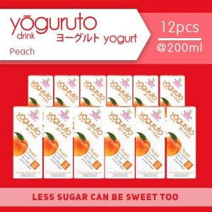 Harga heavenly blush yoguruto peach 12 pcs x 200ml | HARGALOKA.COM