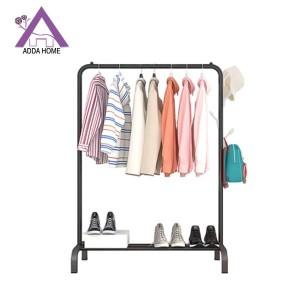 Harga shabby rak baju stand hanger minimali desain korea 150x110x54cm   | HARGALOKA.COM