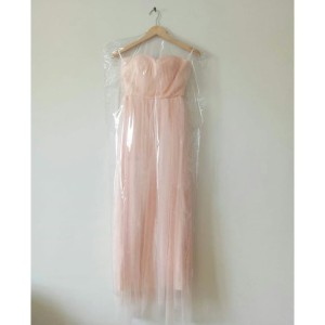 Harga bridesmaid dress blush pink peach long | HARGALOKA.COM