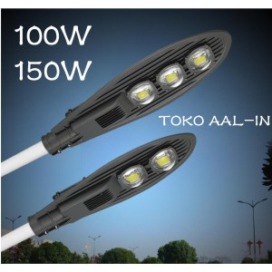 Harga lampu jalan led pju 100w 150w cobra led street light full walt   6500k 100 | HARGALOKA.COM