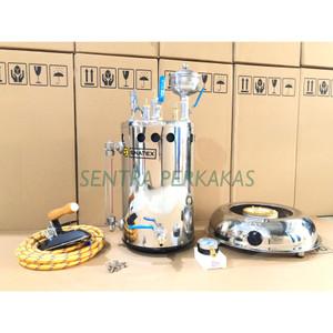 Harga setrika uap boiler laundry 10 ltr lengkap siap | HARGALOKA.COM