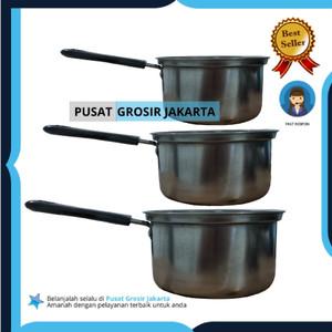 Harga panci set susu 3 pcs serbaguna stainless | HARGALOKA.COM