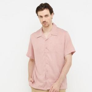 Harga kemeja kaum co   dusty pink   | HARGALOKA.COM