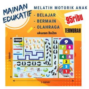 Harga mainan edukatif karpet engklek | HARGALOKA.COM