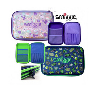 Harga smiggle express double up hardtop pencil case   dino   HARGALOKA.COM