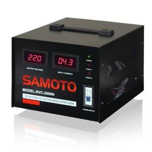 Harga voltage stabilizer listrik untuk rumah samoto 5000va 5000n | HARGALOKA.COM