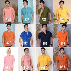 Harga kaos polo kaos kerah baju polo polo shirt harga promo   tulis no warna | HARGALOKA.COM