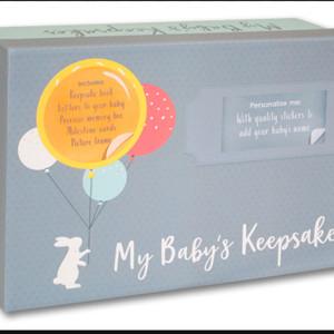Harga my baby 39 s keepsakes box set buku bayi buku record | HARGALOKA.COM