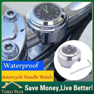 Harga jam motor bahan besi untuk stang handlebar motor anti air   HARGALOKA.COM