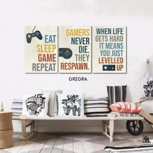 Harga poster game playstation xbox dekorasi dinding pajangan game | HARGALOKA.COM