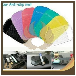 Harga silicone car anti slip mat super sticky pad phone hp dashboard   HARGALOKA.COM