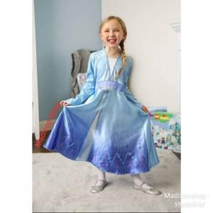 Harga kostum anak frozen 2 murah baju elsa hadiah kado anak princess   HARGALOKA.COM