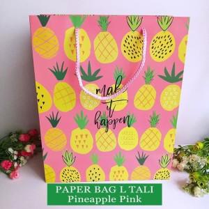 Harga paper bag tali motif tas kertas kado tas ulang tahun   l | HARGALOKA.COM