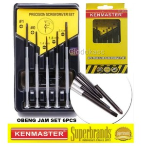 Info Obeng Jam Set 6pcs Kenmaster Katalog.or.id