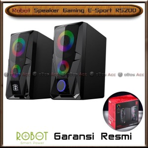 Harga speaker gaming robot rs200 laptop pc komputer e sport stereo with | HARGALOKA.COM