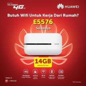 Harga modem mifi wifi router 4g unlock huawei e5673 free telkomsel kuota14gb   | HARGALOKA.COM
