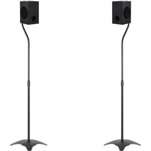 Harga sitstand standing mount bookshelf speaker surround x2 stand   HARGALOKA.COM