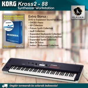 Harga korg kross 2 88 kross2 synthesizer keyboard garansi | HARGALOKA.COM