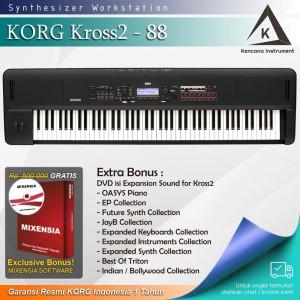 Harga korg kross2 88 kross 2 keyboard synthesizer garansi | HARGALOKA.COM