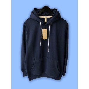 Harga jaket hoodie premium camoe original biru navi navy blue basic   | HARGALOKA.COM