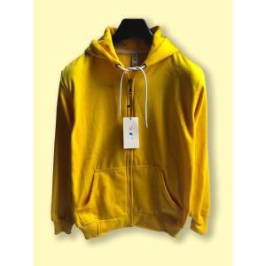 Harga jaket hoodie zipper resleting camoe original yellow kuning basic   | HARGALOKA.COM