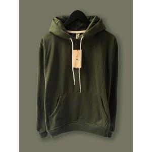 Harga jaket hoodie premium camoe original hijau armi army basic   | HARGALOKA.COM