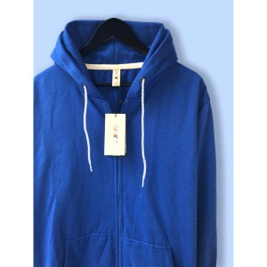 Harga jaket hoodie premium camoe original biru blue basic   | HARGALOKA.COM