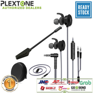 Harga plextone g30 headset gaming earphone noise cancelling headphone import   | HARGALOKA.COM