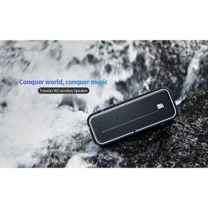 Harga traveler w2 original tws speaker bluetooth tf aux deep bass waterproof   | HARGALOKA.COM