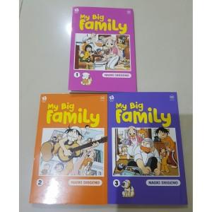 Harga komik my big family 1 3 end naoki shigeno   HARGALOKA.COM
