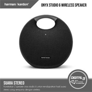 Harga harman kardon onyx studio 6 hk onyx 6 bluetooth wireless speaker ipx7   | HARGALOKA.COM