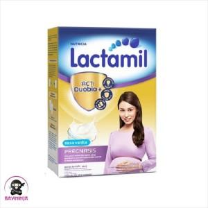 Harga lactamil pregnasis susu ibu hamil vanila box 400g 400   HARGALOKA.COM