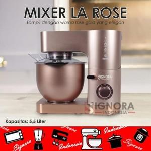 Harga 34 mixer la rose signora 34 plus hadiah langsung   HARGALOKA.COM