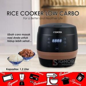 Harga low carb rice cooker signora plus hadiah langsung   HARGALOKA.COM