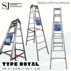 Katalog Tangga Lipat Aluminium Merk Queen 2 5 Meter Katalog.or.id