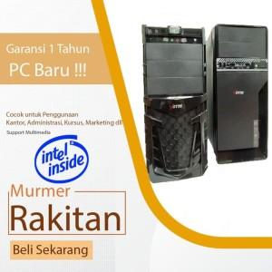 Harga baru komputer pc rakitan core i3 cocok untuk kantor sekolah   HARGALOKA.COM