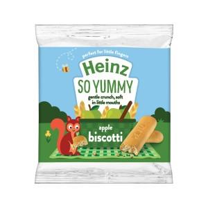 Harga heinz apple biscotti 60 gr biskuit amp snack | HARGALOKA.COM