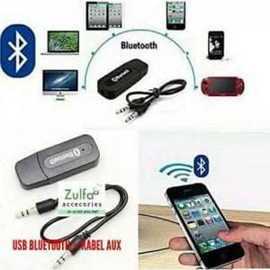 Harga bluetooth audio reciver usb   kabel aux blutut usb | HARGALOKA.COM
