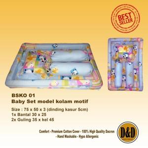 Harga kasur kolam bayi babyset kolam kasur bayi cantik alat tidur   HARGALOKA.COM