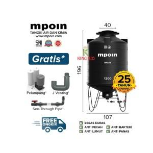 Katalog Tangki Kuras Mpoin Plus 1200 Liter Drain Toren Air Tandon Air Katalog.or.id