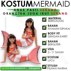 Katalog Baju Renang Anak Putri Duyung Katalog.or.id
