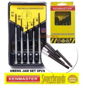 Katalog Obeng Jam Set 6pcs Kenmaster Katalog.or.id