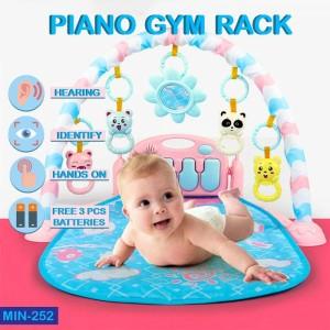 Harga piano gym rack matras tidur bayi playmat mainan edukasi   HARGALOKA.COM